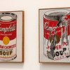 Broad Museum: Andy Warhol (1962) Campbell's Soup Can (Clam Chowder) and Small Torn Campbell's Soup Can (Pepper Pot)