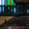 Escalator art in LA Union Station