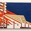 Broad Museum: Ed Ruscha (1964) Norm's, La Cinema, On Fire