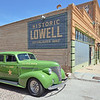 One of several old vehicles in Lowell, Arizona.