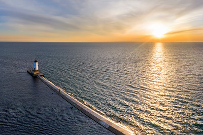 Ludington Serial Sunset