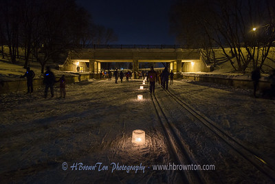 City of the Lakes Luminary Loppet
