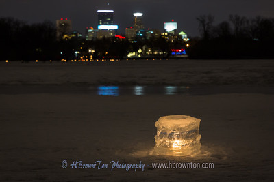 Luminary & Minnapolis Skyline