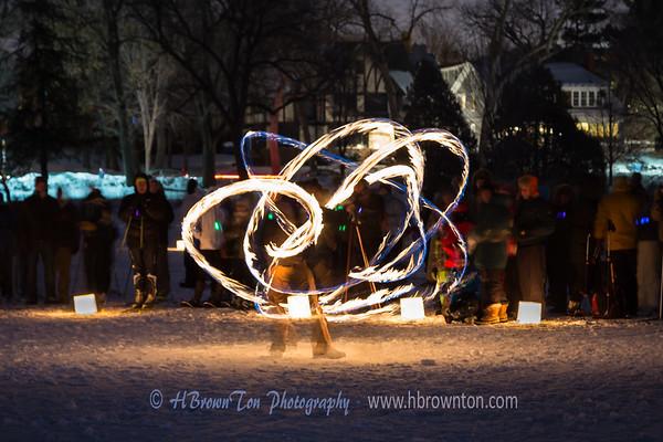 Fire Dance on Ice