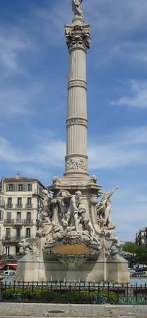 Marseille statue