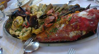Luminy bouillabaisse fish platter