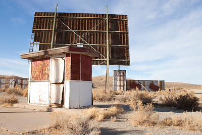 Sage Crest Drive-In, Yerington, NV