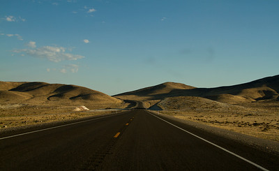 95A - between Fernley and Silver Springs, Nevada.