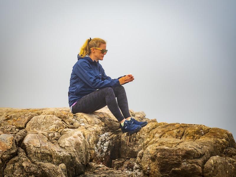 Hiking at the Sea Wall