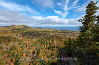 Autumn's Overlooking Lake Superior