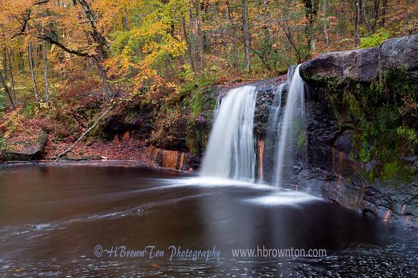 Wolf Creek Falls Autumn Colors