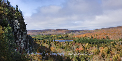 Autumn's Overlooking Oberg Lake