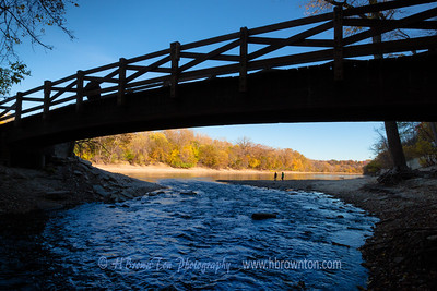 A stroll down by where Minnehaha meets Mississippi