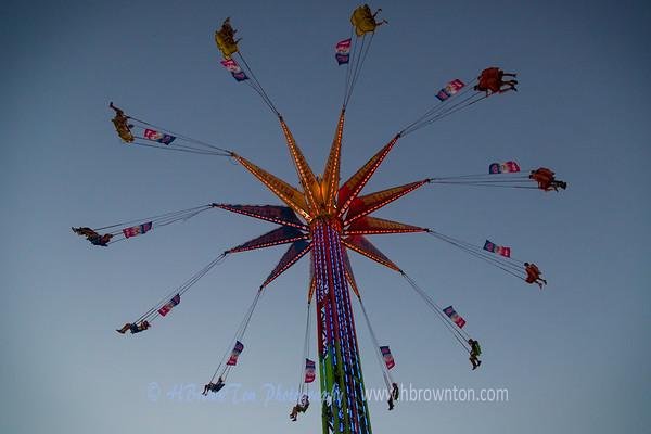 Round & Round on the Skyflyer