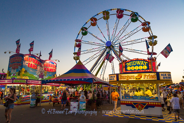 Minnesota State Fair Eats at the Midway