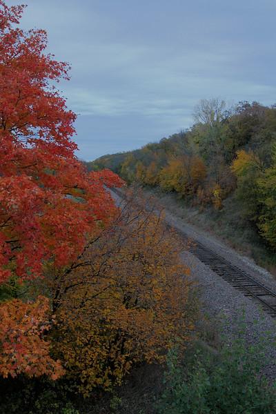 Railroad thru Camden