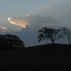 Sunrise Receding Storm