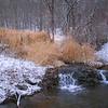 Falls Above Pool winter