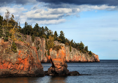 The Tettegouche Stack and Shovel Point