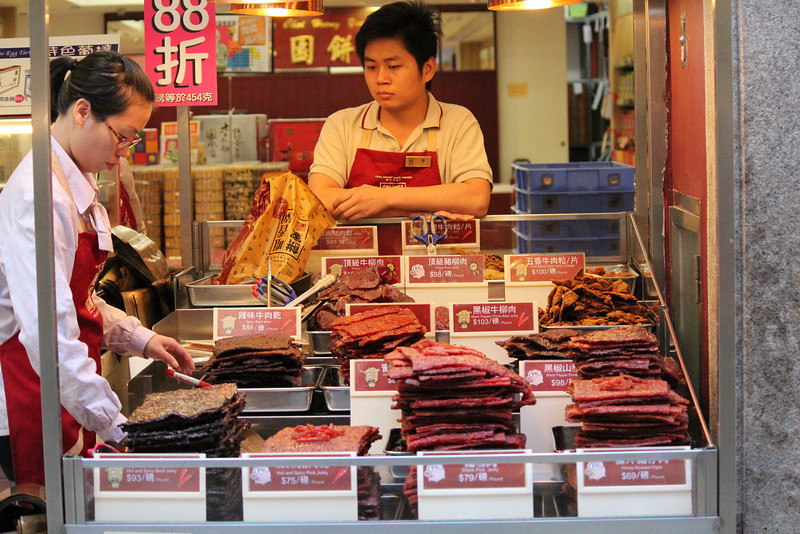 Range of Cured Meat for Sale, Macau