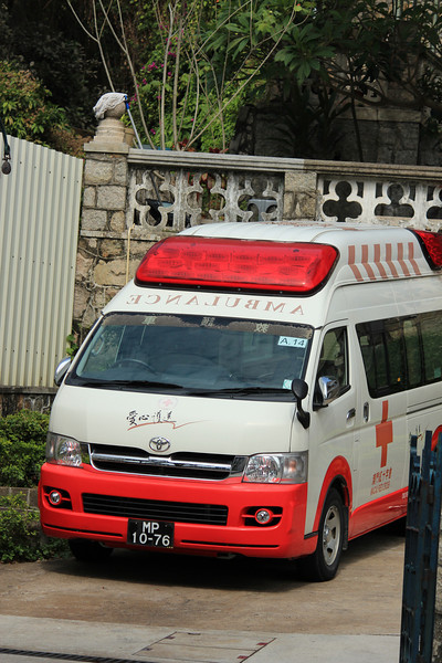 Red Cross Ambulance, Macau