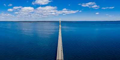 Mackinac Bridge Aerial 2x1