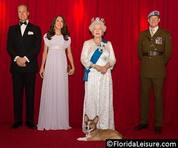 Madame Tussauds Orlando - Royals