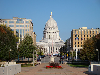 Wisconsin State Capitol Building.