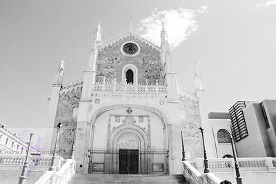 Black and White Image of San Jerónimo el Real