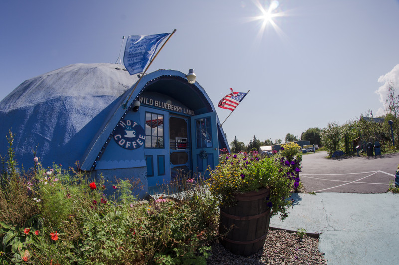 Blueberry World!  Down the road about 10 miles.  Best pies in town.