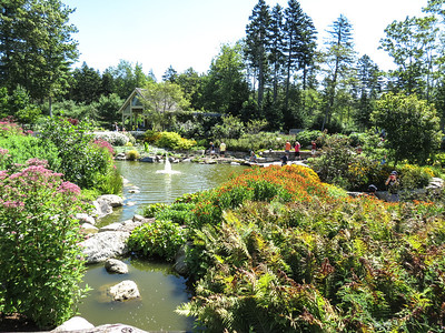 Pond, Botanical Gardens, Boothbay, ME