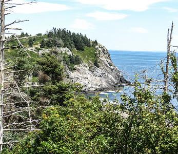 View from Burnt Head, Monhegan Island, ME