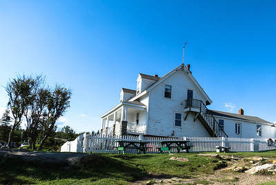 Light Keeper's House, Pemaquid Point, ME