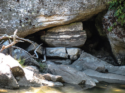 Interesting Rock Formaton, Ovens Mouth Preserve, Boothbay, ME