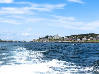 Leaving Monhegan Island, ME