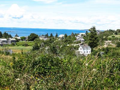 Villiage, Monhegan Island, ME