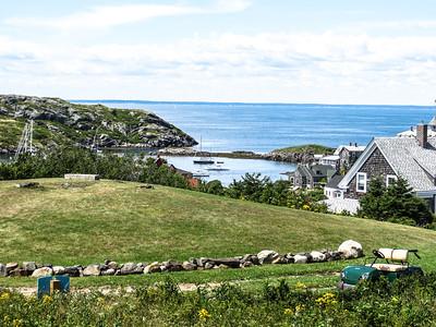 View of the Harbor, Monhegan Island, ME