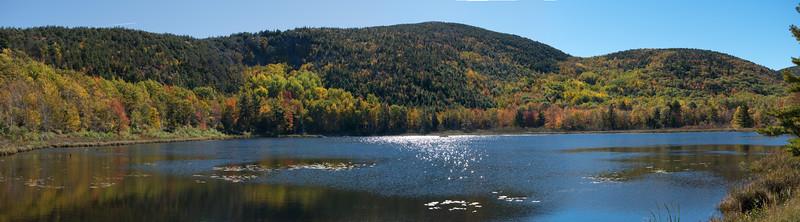 20151019.  Beaver Dam Pond, Acadia NP, Mt. Desert Island, ME.
