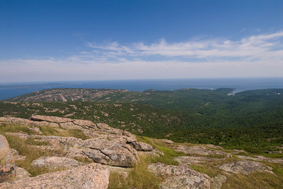 Acadia Natiional Park, Summit of Cadillac Mt