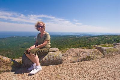 Acadia Natiional Park, Summit of Cadillac Mt