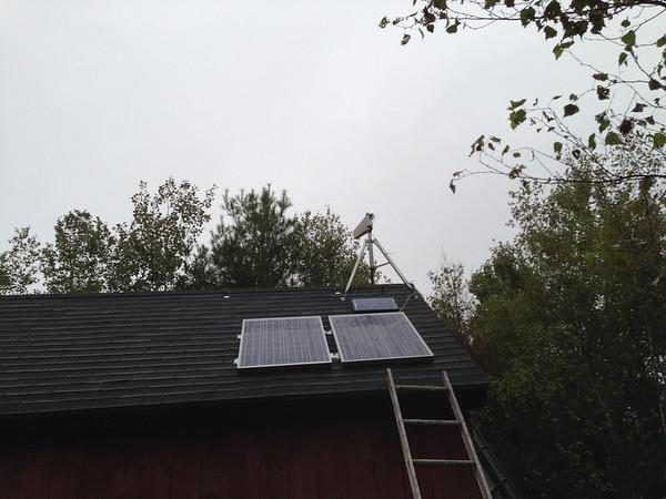 210W of solar power