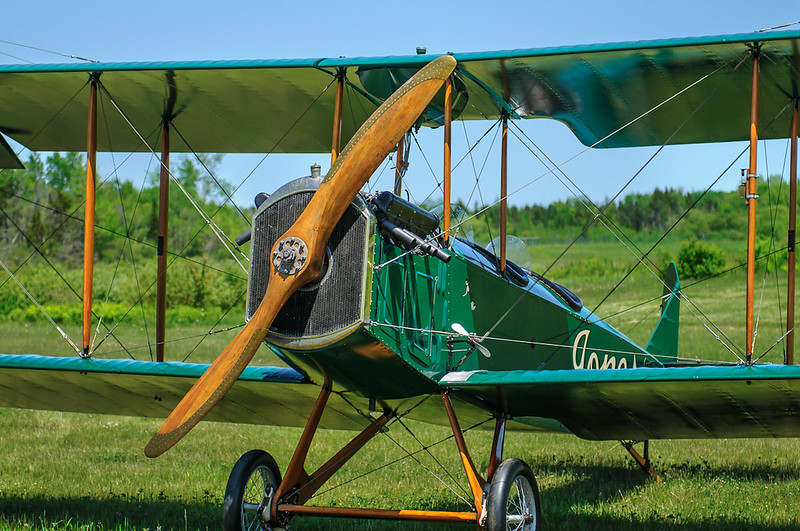 1918 Standard J-1 at the Owls Head Transportation Museum with the markings of Harry Jones' Flying Service, Old Orchard Beach, Maine.