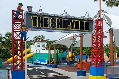 The shipyard.