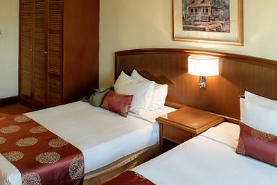 Hotel room in Johor Bahru.