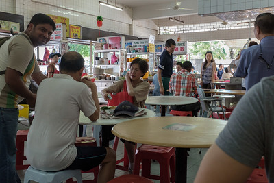 One of the many food courts in KL and suburbs.