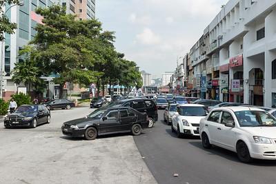 Parking Malaysian style.