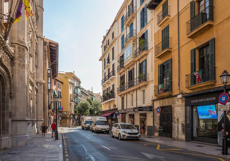 Streets of Palma de Mallorca