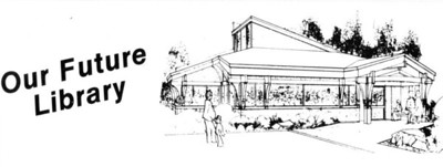 By 1985 local library supporters recognized the need for more space than Pine Grove could provide. They formed a nonprofit organization to raise funds for a new library building. The new organization would own and maintain the building while the county system continued to buy books and provide professional staff.
