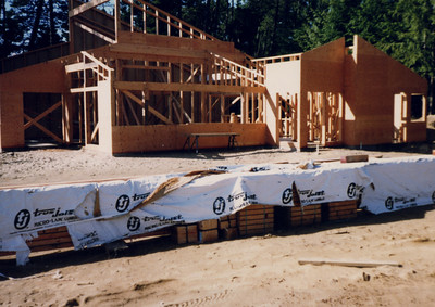 By February 1987 the new building was taking shape. Almost 200 people attended the grand openning that July.