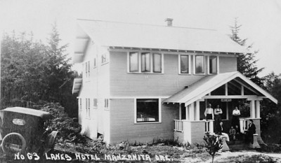Joanna Lane owned the the hotel on Laneda Avevue. The building still stands on Laneda Avenue across from the Pine Grove Community House.